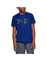 Under Armour Boys Tech Big Logo Solid T-Shirt