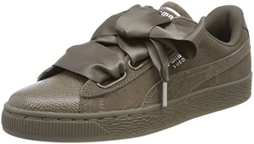 PUMA Suede Heart Bubble, Sneakers Basses Femme