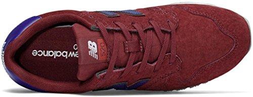 Nieuwe Balans Dames 520v1 Sneaker Marine / Rood