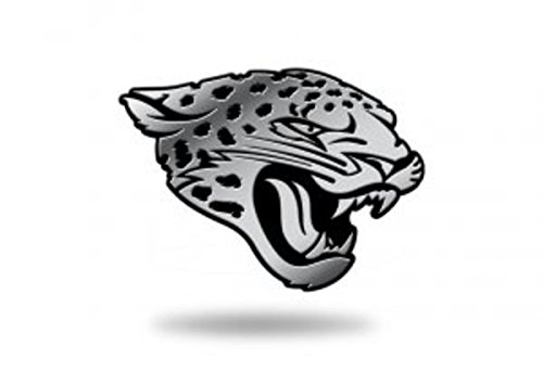 NFL Jacksonville Jaguars Molded Auto Emblem (Jacksonville Plate Jaguars)