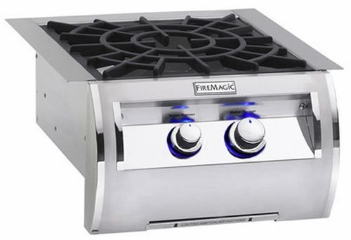 Built-In Echelon Power Burner with Stainless Steel Grid