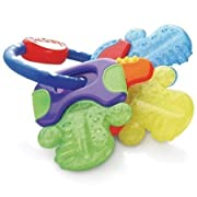Nuby Icybite Hard/Soft Teething Keys - 2Pack