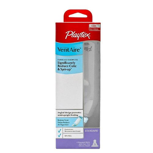 Playtex Ventaire Advanced Standard Bottle, 9 Ounce ( Pack 3 )