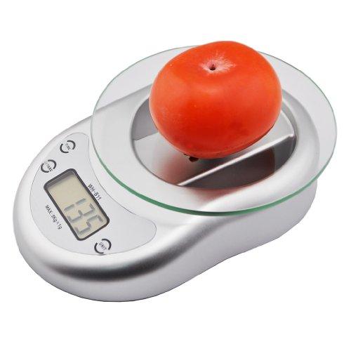 Price comparison product image iKKEGOL 5kg / 11lbs 1g Digital Kitchen Postal Scale Weight Balance Glass Panel