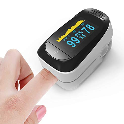 4 in 1 Fingertip 0ximeter Fitness Sleep Monitoring,Oxygen Saturation Monitor with PR and P -