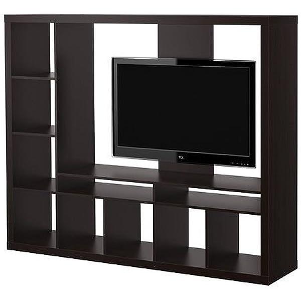 IKEA LAPPLAND - Unidad de almacenamiento para TV, color negro ...