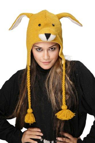 BZANY® Kangaroo Pom Pom Knit Hat