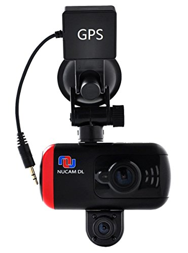 lens HD 1080p Front Camera 170°, Wide Angle Back Camera 120°, Adjustable Night Vision. GPS, SOS button. 3 inch Display. NuCam DL, Great for Fleet Management, The Ride, Lyft, Taxi ()