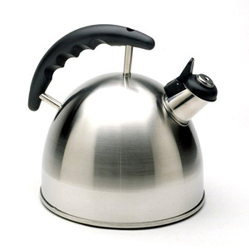 Norpro 5627 Whistling Tea Kettle, Stainless Steel, 2.5 qt