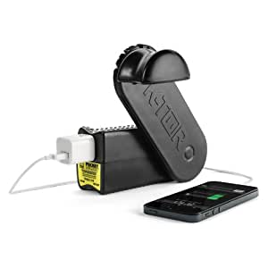 K-Tor 120 Volt 10 Watt Emergency Hand Crank Generator, Pocket Socket 2, Charges All Portable Electronics, All Cell Phones Including All Makes of Apple Products, Sturdy Build, Made in the USA