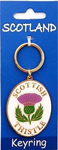 iLuv Scottish Keyring Thistle Design on Scottish (Scottish Key Ring)