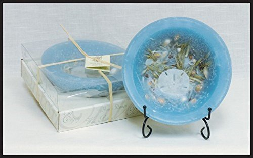 """Habersham Candle 7"""" Wax Pottery Seascape Fragrance With S..."""