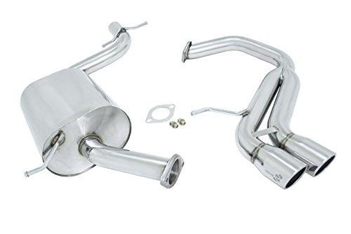 Manzo USA Volkswagen VW Golf/GTI V/MK5 Stainless Steel Catback Exhaust System -