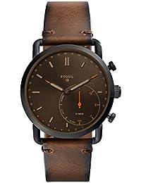 Hybrid Smartwatch - Q Commuter Dark Brown Leather FTW1149