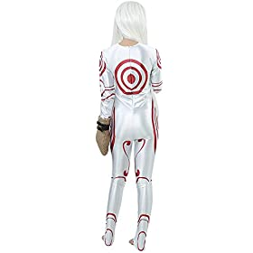 - 41wAppi4f8L - Miccostumes Women's Deadman Wonderland Shiro Cosplay Costume