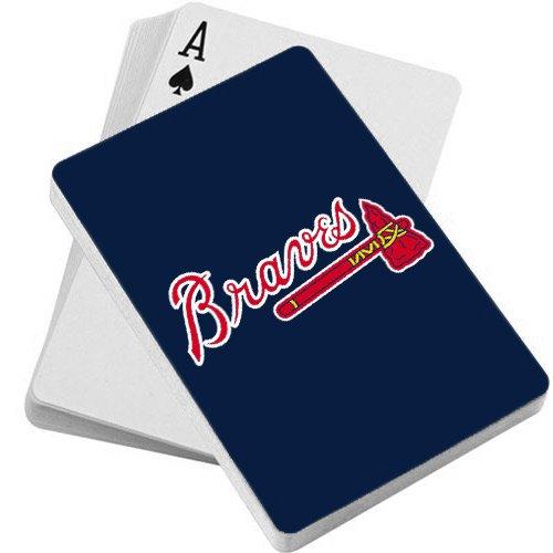 MLB Atlanta Braves Playing Cards (Braves Mlb Baseball Cards)