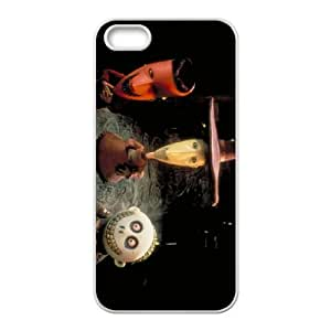 iPhone 5 5s Cell Phone Case-White The Nightmare Before Christmas Custom Phone Case Cover CZOIEQWMXN21718