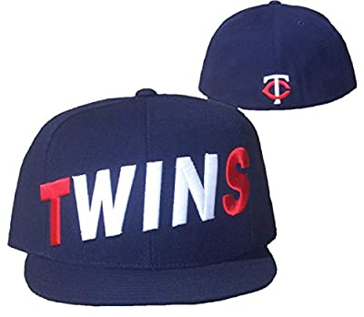 Minnesota Twins SCOREBOARD Fitted 7 1/4 Hat Cap