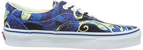 Vans Unisex-tijdperk Van Doren Blue Print Sneakers Lage Top Skate Schoenen