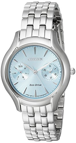 Citizen Women's 'Silhouette' Quartz Stainless Steel Casual Watch, Color:Silver-Toned (Model: FD4010-57L)