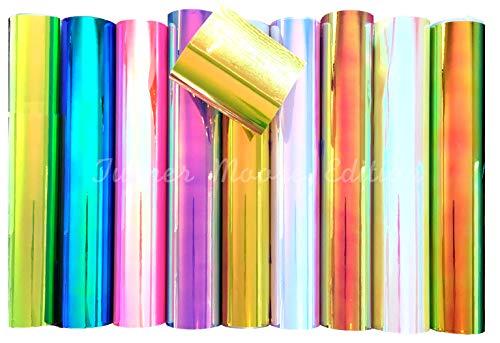 (Turner Moore Vinyl Opal Holographic Vinyl Sheets 12