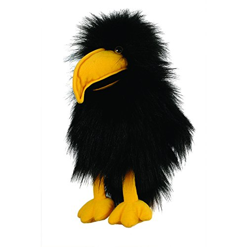 Bird Infant Puppets - The Puppet Company Baby Birds Crow Hand Puppet