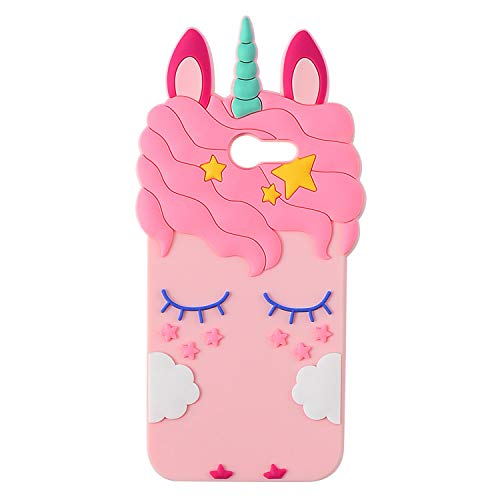 Pink Horse Case for Galaxy J7 V /