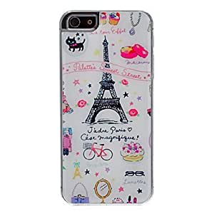 Paris Life Pattern Epoxy Hard Case for iPhone 5/5S by ruishername
