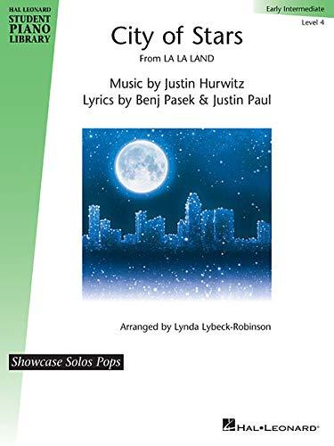 City of Stars: Hal Leonard Student Piano Library Showcase Solos Pops - Early Intermediate Level 4