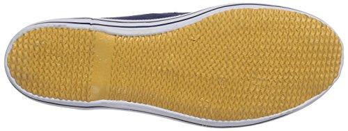 Beck Racer - pantuflas con forro de lona niño azul - Blau (dunkelblau 05)