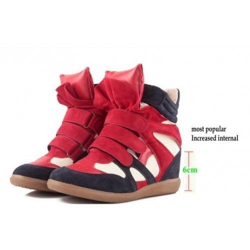 Multicolor compensate Sneakers Izabel Multicolore camouflage Sneakers Tacco zeppa 41 Donna con inverno ZHqp6wSH