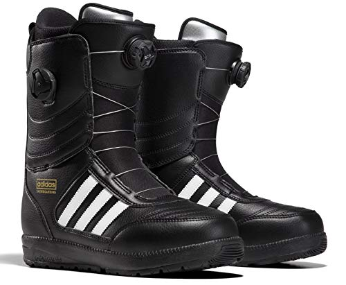 Lace Ride Snowboard Boots - adidas Response ADV Snowboard Boot - Men's Black/White/Black, 9.5
