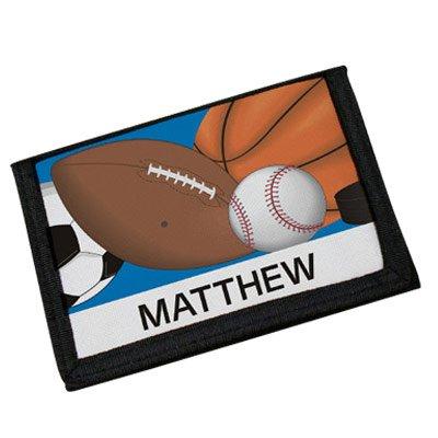 Custom Printed Sports Wallet, 4.5