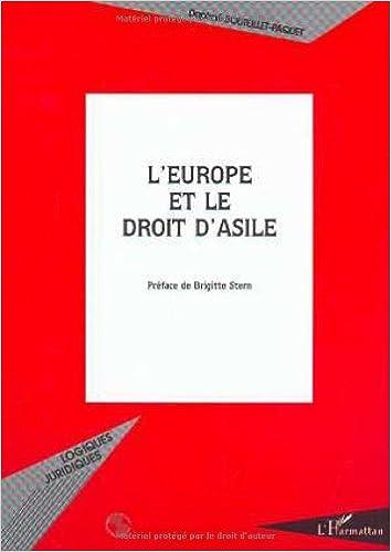 Téléchargement L'europe et le droit d'asile epub, pdf