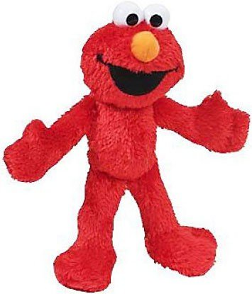 Sesame Street Plush Pal Elmo 8 Inches (Timeless Plush)