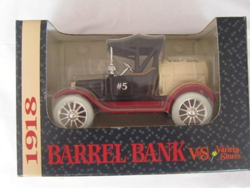 1918 Runabout Barrel V&S Variety Stores #5 Bank by ERTL