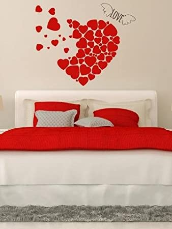 Buy WallMantra Romantic Wall Sticker Online At Low Prices In India - Wall decals india