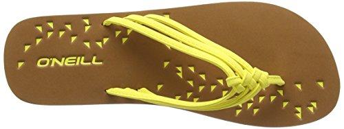 ONeill Ditsy 609522 Damen Zehentrenner Gelb (Blazing Yellow 2007)