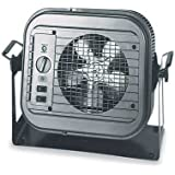 Dayton 4E169 5000 Watt Electric Garage Heater With Thermostat