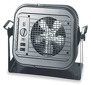 dayton 4e169 5000 watt electric garage heater. Black Bedroom Furniture Sets. Home Design Ideas