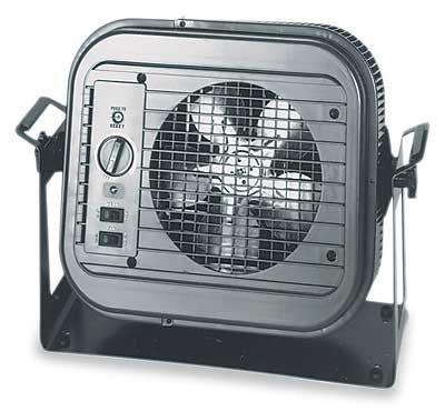 Dayton 4e169 5000 Watt Electric Garage Heater With Thermostat