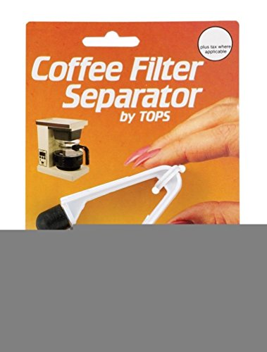 Lunarland Coffee Filter Paper Separator - Helps Grab One At A Time From A Stack
