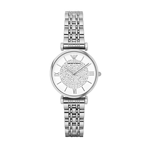 Emporio Armani Women's Quartz Watch with Stainless-Steel Strap