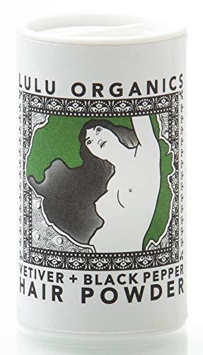 (Lulu Organics Vetiver & Black Pepper Hair Powder/Dry Shampoo - 1oz)