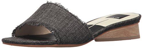 Dolce Vita Women's Adalea Slide Sandal, Ash Denim, 8.5 M US