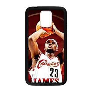 Hoomin Lebron James Last Shot Samsung Galaxy S5 Cell Phone Cases Cover Popular Gifts(Laster Technology)