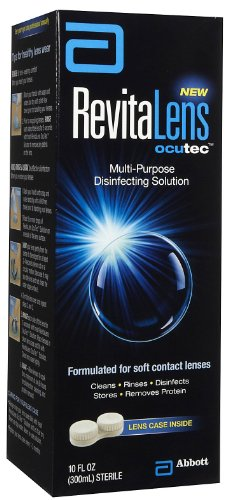 AMO RevitaLens Disinfectng polyvalent Solution, Taille: 10 Oz