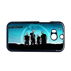 Creative Back Phone Covers For Girl With Rise Against For Htc One M8 Choose Design 1