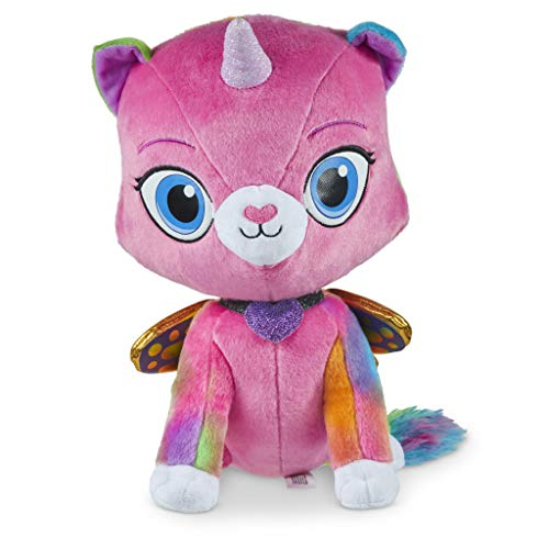 🥇 Rainbow Butterfly Unicorn Kitty Fabulous Felicity Huggable Plush Toy