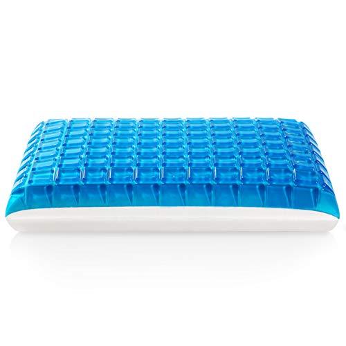 MoMA Gel Memory Foam Pillow - Reversible